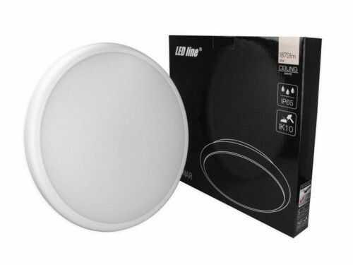 Plafon LED LEDline LUNAR z czujnikiem 22W 230V IP65 4000K - biała dzienna