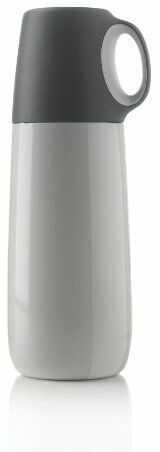 XD DESIGN mała piersiówka ze stali nierdzewnej 5-częściowa Bopp, biała