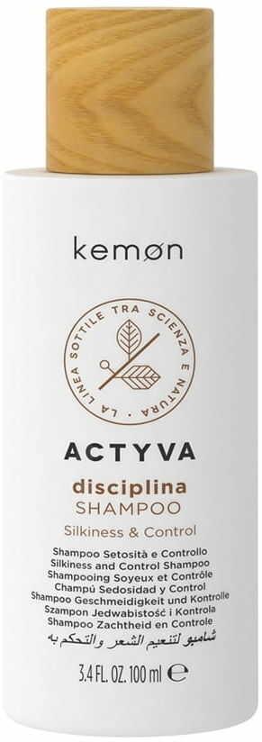 Kemon Actyva szampon Disciplina wygładzający 100ml