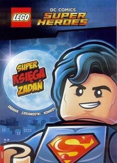 Lego DC Comics. Super Księga Zadań - praca zbiorowa