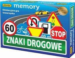 Znaki drogowe Memory Gra ZAKŁADKA DO KSIĄŻEK GRATIS DO KAŻDEGO ZAMÓWIENIA