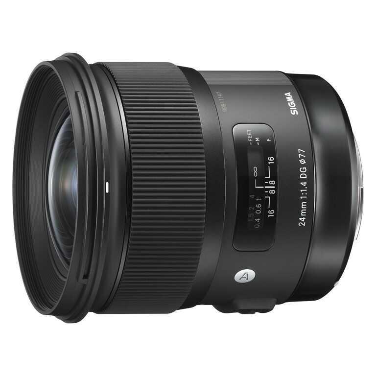 Obiektyw Sigma Art 24mm f/1,4 DG HSM Canon