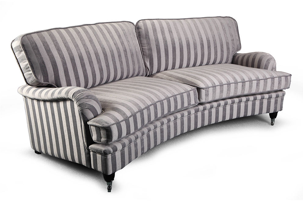 Sofa Don Royal Curved 2os.+, stylowa kanapa