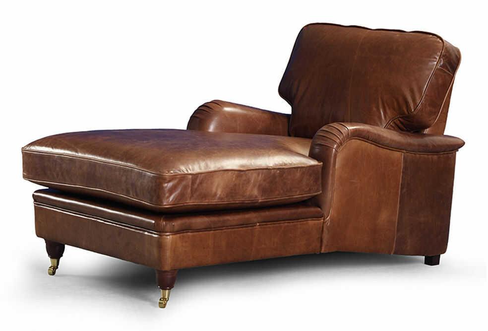 Sofa Otomana Don Collection, skórzany szezlong