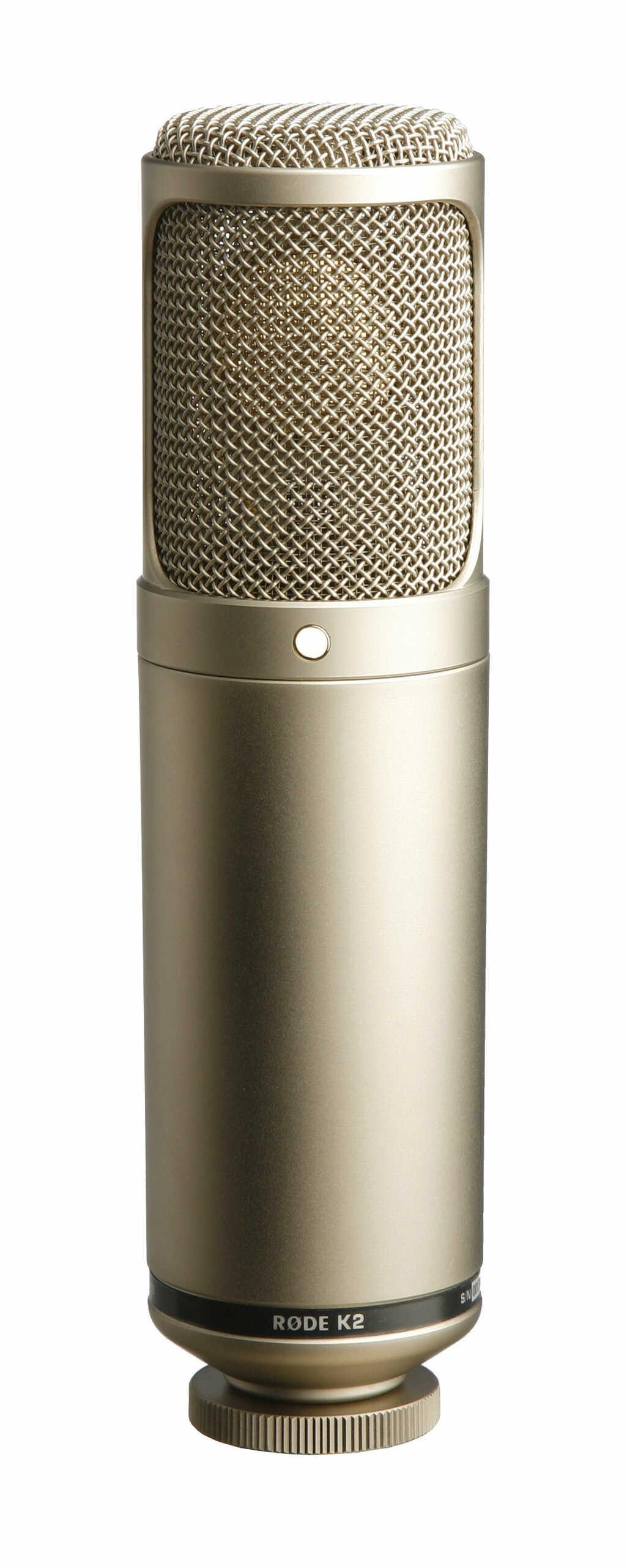 Rode K2 - mikrofon pojemnościowy lampowy studyjny Rode K2 - mikrofon pojemnościowy lampowy studyjny