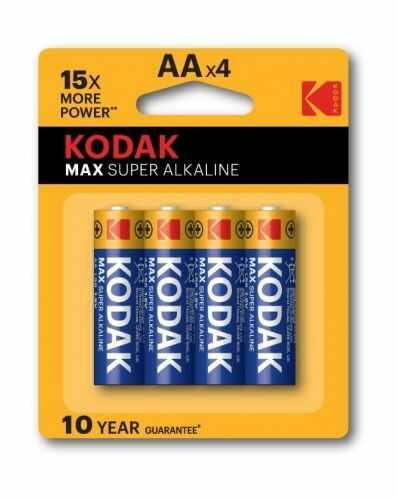 Baterie Kodak Max Super LR6, AA blister 4szt