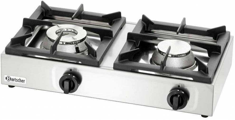 Bartscher Kuchnia gazowa 2 palnikowa 11000W - kod 1058503