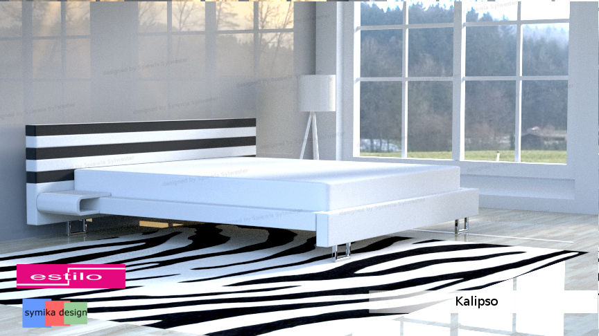Łóżko do sypialni Kalipso - meble do sypialni