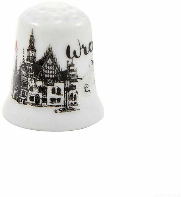 Naparstek ceramiczny Wrocław Ratusz oldbook