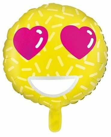 Balon foliowy Emotikon Love 45cm FB28