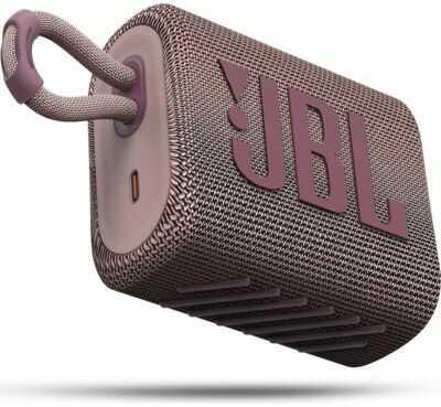 Głośnik Bluetooth JBL Go 3 Różowy. > RABATOMANIA! 5-ty produkt 99% TANIEJ! ODBIÓR W 29 MIN DARMOWA DOSTAWA DOGODNE RATY!