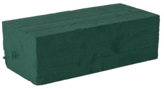 Gąbka florystyczna Victoria kostka mokra 1 sztuka FR100-01