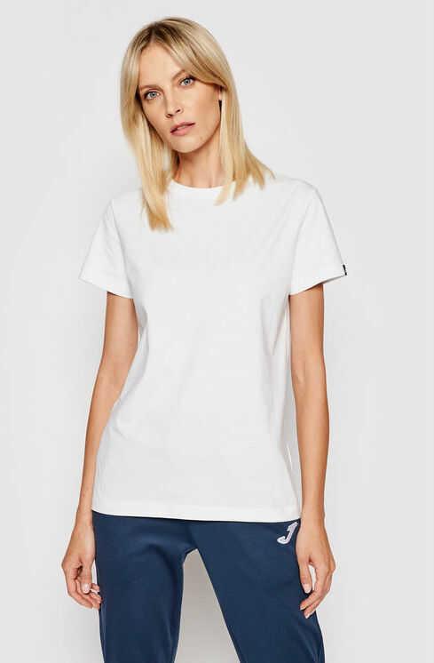 Joma T-Shirt Desert 901326.200 Biały Regular Fit