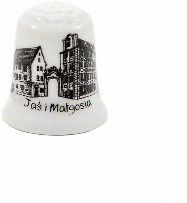 Naparstek ceramiczny Wrocław Jaś i Małgosia oldbook