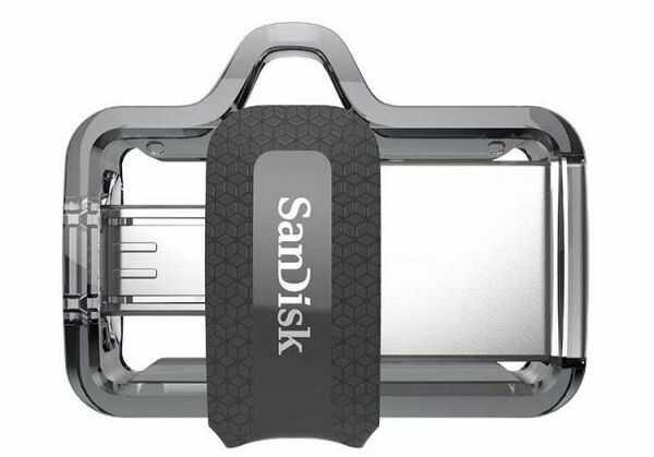 Pendrive USB 3.0 + micro USB OTG - SanDisk Ultra Dual Drive m3.0 32GB