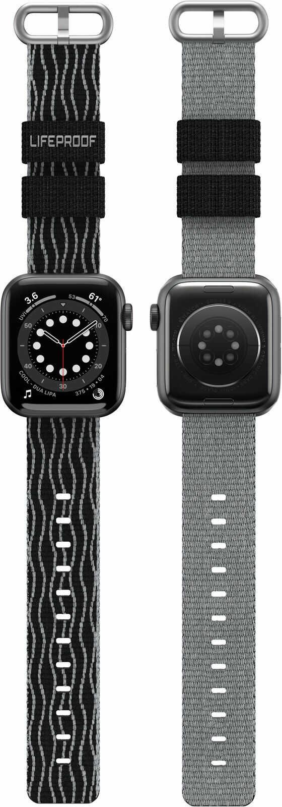 LifeProof Eco-Friendly Pasek Materiałowy do Apple Watch (45 mm) / Apple Watch (44 mm) / Apple Watch (42 mm) (Midnight Zone)
