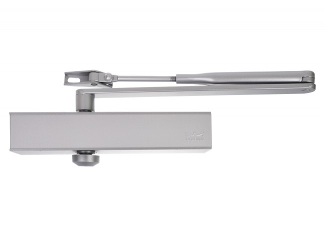 Samozamykacz DORMA TS 79 EN 2/3/4 z ramieniem srebrny