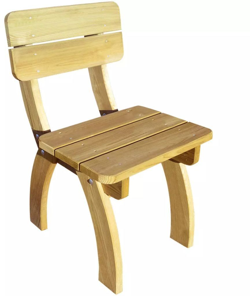 Drewniane krzesło ogrodowe - Darco