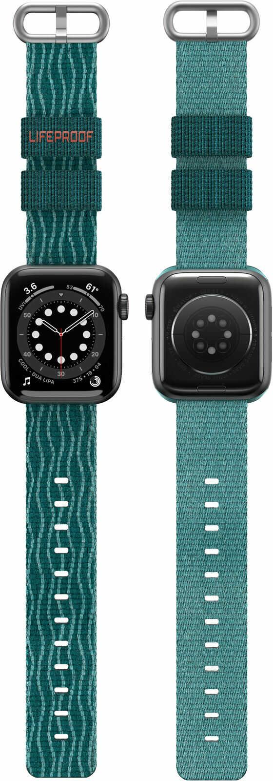LifeProof Eco-Friendly Pasek Materiałowy do Apple Watch (45 mm) / Apple Watch (44 mm) / Apple Watch (42 mm) (Under The Sea)