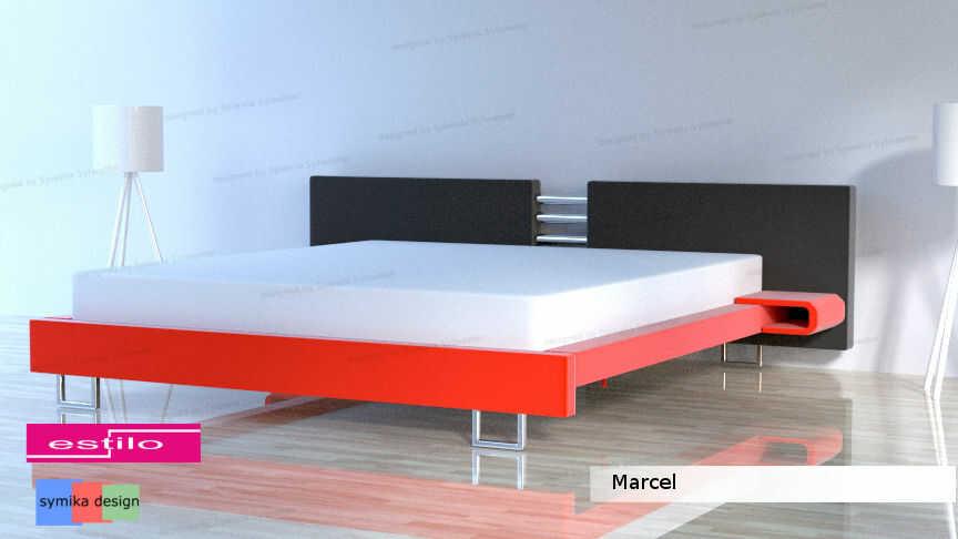 Łóżko do sypialni Marcel - meble do sypialni