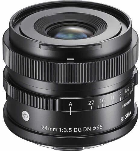 Sigma C 24mm f/3.5 DG DN - obiektyw stałoogniskowy, Sony E Sigma C 24mm f/3.5 DG DN