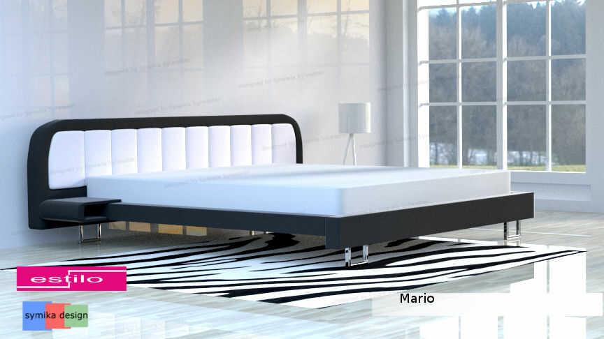 Łóżko do sypialni Mario - meble do sypialni