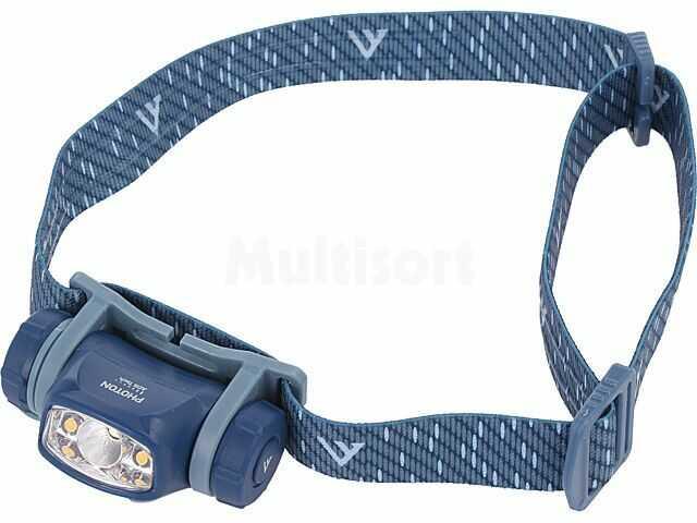 Latarka czołowa LED AHL0011 90lm 60x35x25mm Kolor niebieski