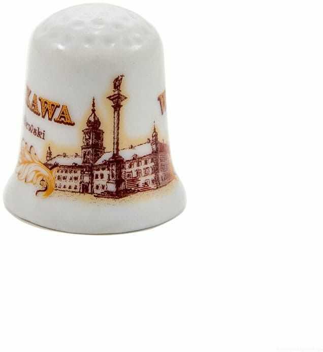 Naparstek ceramiczny Warszawa Zamek sepia