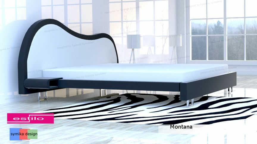 Łóżko do sypialni Montana - meble do sypialni
