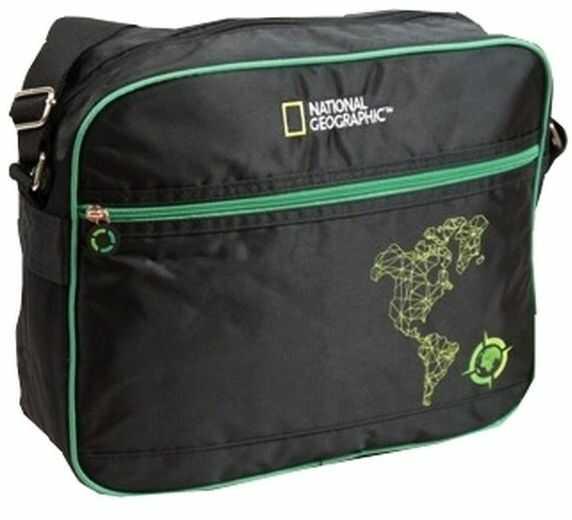 Torba na ramię National Geographic Compass Zielona 5270727