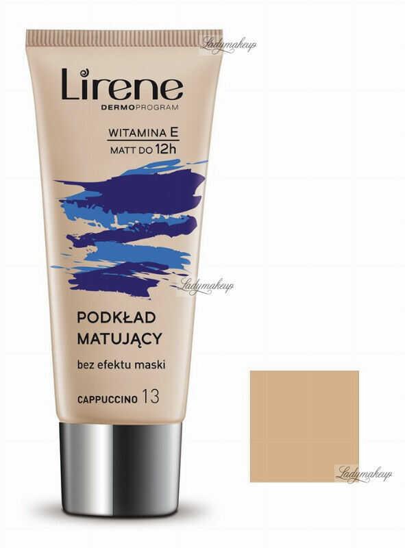 Lirene - Nature MATTE - Fluid matujący - 13 - CAPPUCCINO