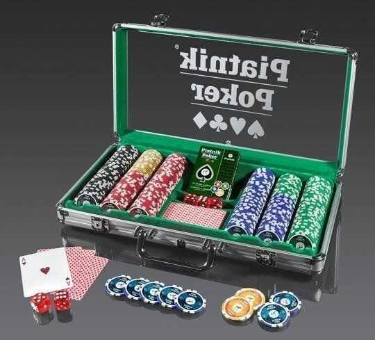 Piatnik Poker Alu-Case - 300 żetonów 14g PIATNIK - Piatnik