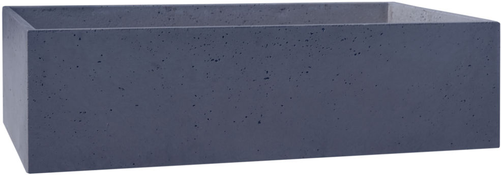 Donica betonowa BOX L 90x45x25 grafit