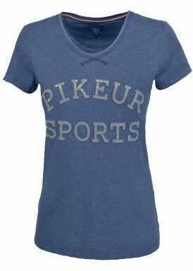 Koszulka LEXI - Pikeur - denim melange - damska