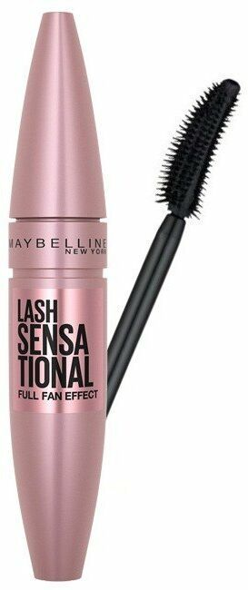 Maybelline Lash Sensational Mascara - Tusz do rzęs Intense Black 9,5 ml