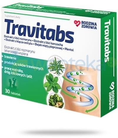 Rodzina Zdrowia Travitabs 30 tabletek