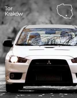 Jazda za kierownicą Mitsubishi Lancer Evo X  Tor Kraków