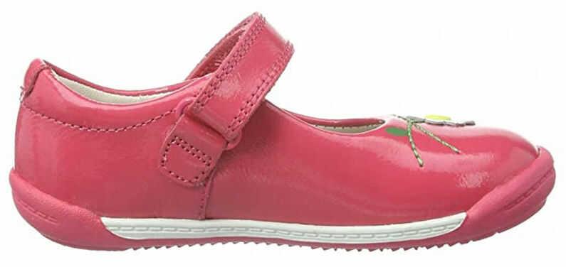 Baleriny dziecięce Clarks Softly Jam Fst różowe261143576