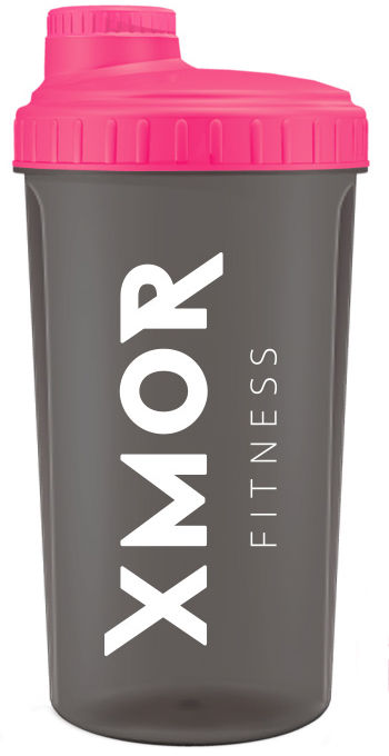 XMOR Fitness - SHAKER - 0,7 L (różowy)