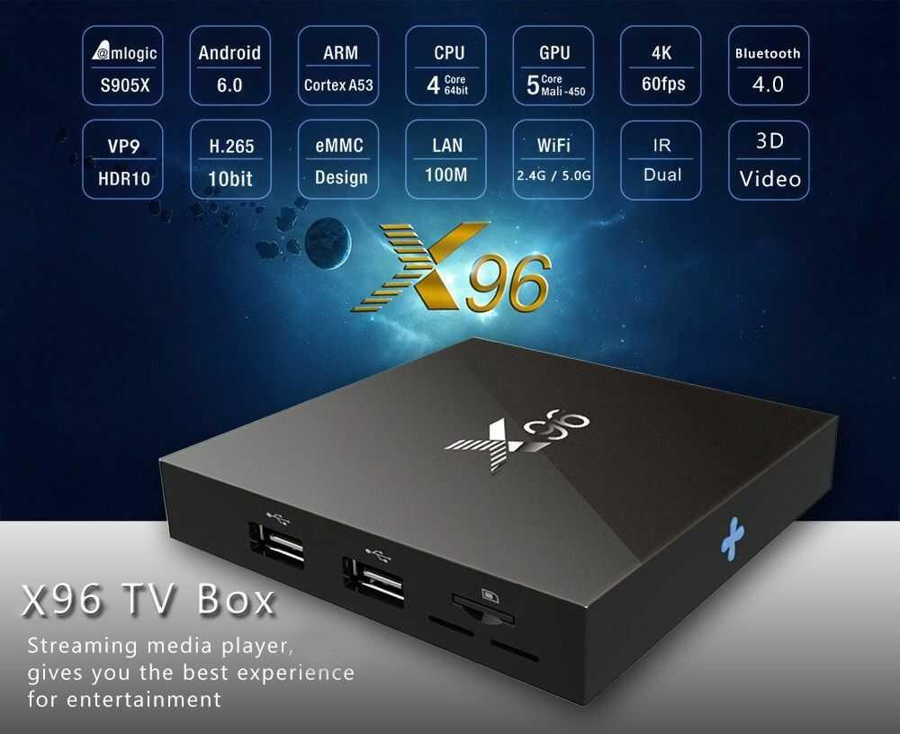 TV BOX Android X96 z klawiaturą