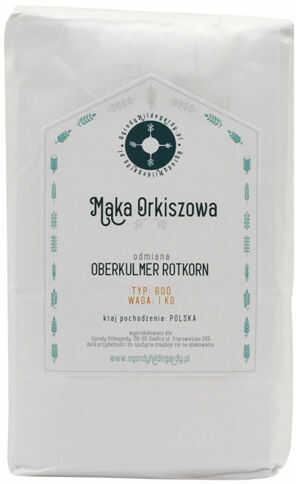 Mąka orkiszowa - Mąka typ 600 Orkisz 1 kg, - PL6001