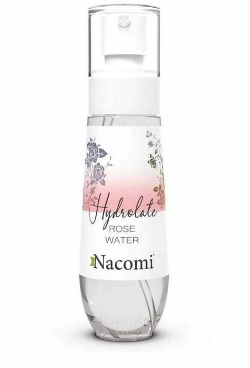NACOMI Hydrolat różany spray, 80ml