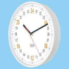 Zegar naścienny 24-godzinny biały #1