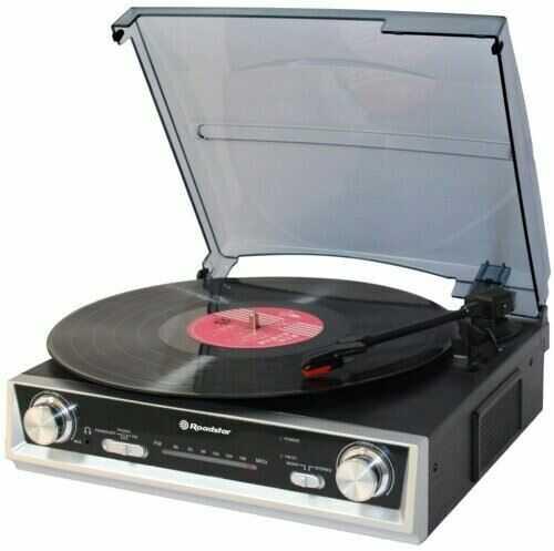 Roadstar Gramofon ROADSTAR TTR-8634