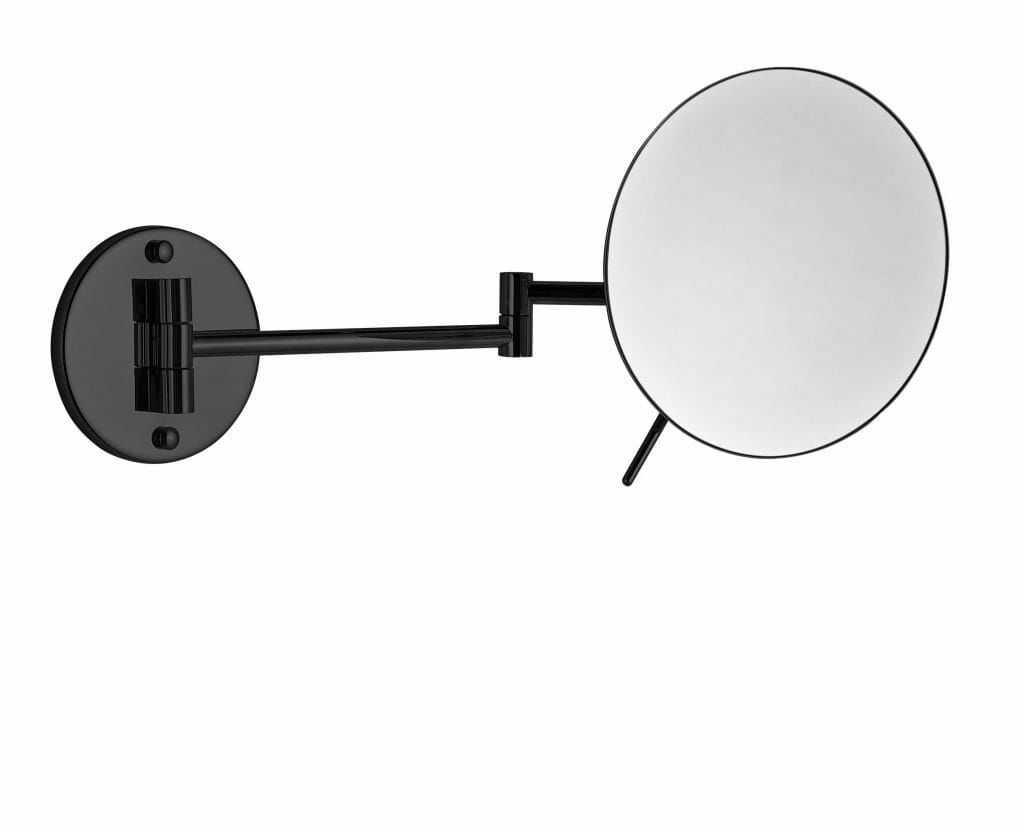 Stella Lusterko kosmetyczne okrągłe powiększające x3 22.01430-B czarny mat wysyłka 24h
