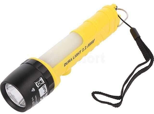 Latarka standardowa PHH0122 400lm fi40,5x172mm Kolor żółto-czarny