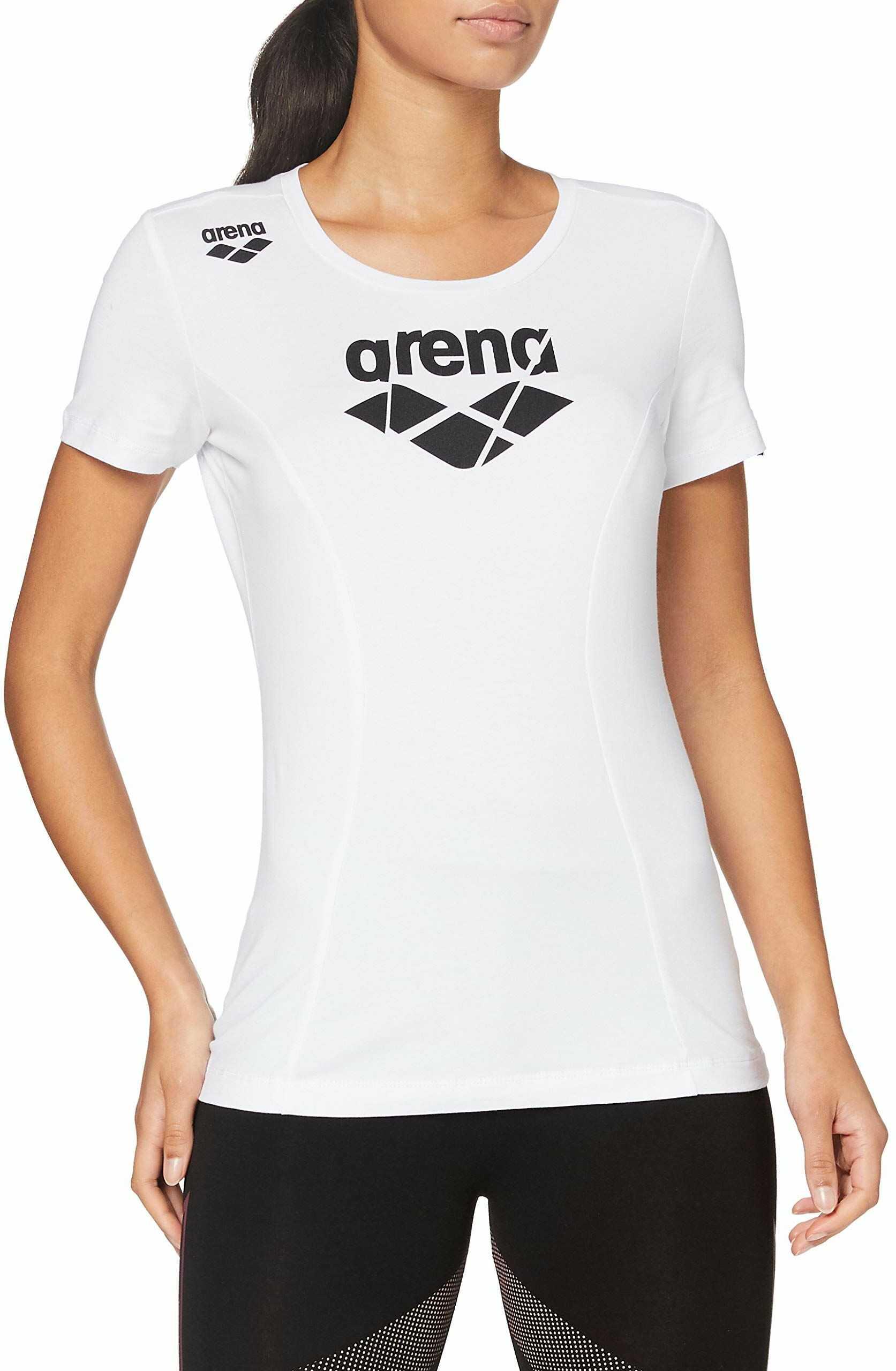 ARENA Damski T-shirt sportowy Arena Te T-shirt biały biały XS