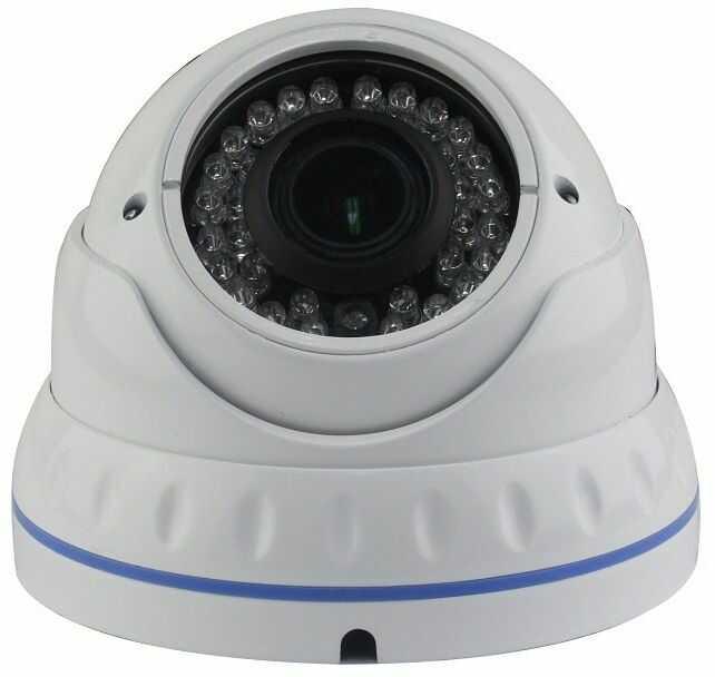 Kamera kopułkowa analogowa 1200TVL z ogniskową 3.6mm MZ-DA-C2012G