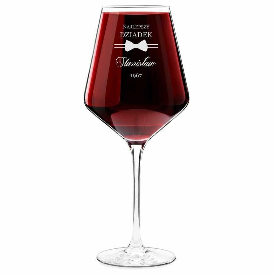 Kieliszek do wina KROSNO avant-garde z grawerem dla dziadka na