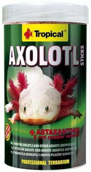 TROPICAL - Axolotl sticks puszka 250ml